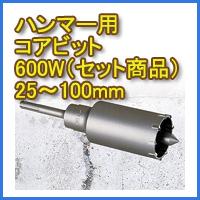 ミヤナガ・ハンマー用コアビット600W(セット商品)一覧
