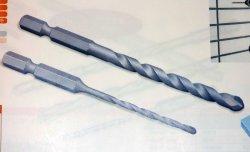 画像1: ミヤナガ ブロック・モルタル用充電ドライバードリル(5.0mm〜5.5mm)R050〜R055(10本セット)