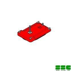画像1: コンセック(ハッケン) 4096ポールベース用・平面用バキュームパッド(VP-300)