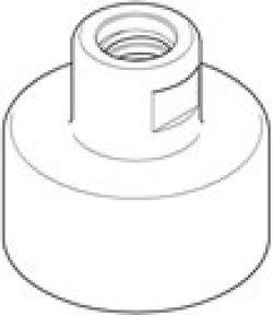 画像1: コンセック(ハッケン)Aロッドねじ3点式コア用カップリング(128mm)